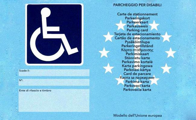 Parcheggio disabili cosa utile sapere for Disegni di posto auto coperto in piedi