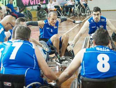 Sei Nazioni Wheelchair Rugby, Fontanafredda 26-29 giugno 2014