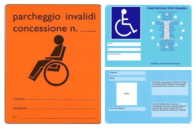parcheggio disabili-tagliando disabili-pass disabili-tagliando per persone con disabilità ability channel