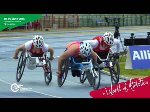 Video ufficiale Europei di Atletica Paralimpica Grosseto 2016
