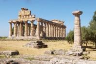 Provare il percorso disabili a Paestum