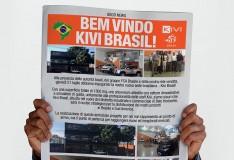 Kivi sbarca in Brasile
