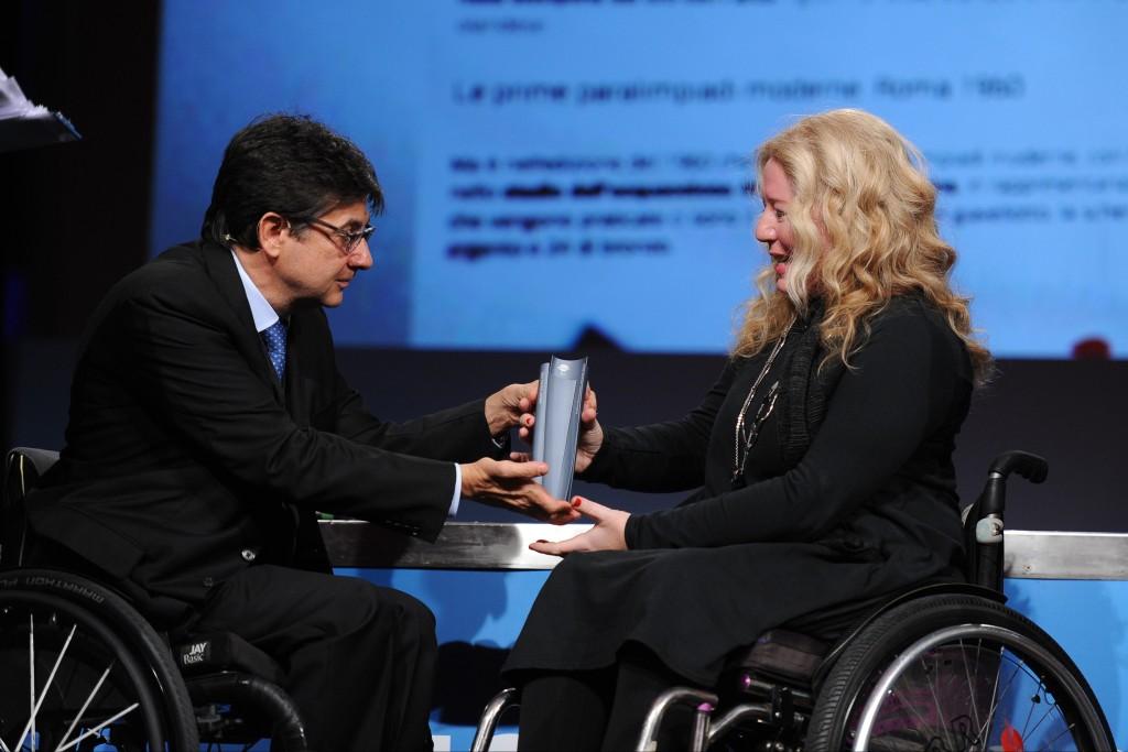 italian paralympic award