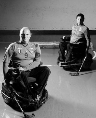 wheelchair hockey bn 7