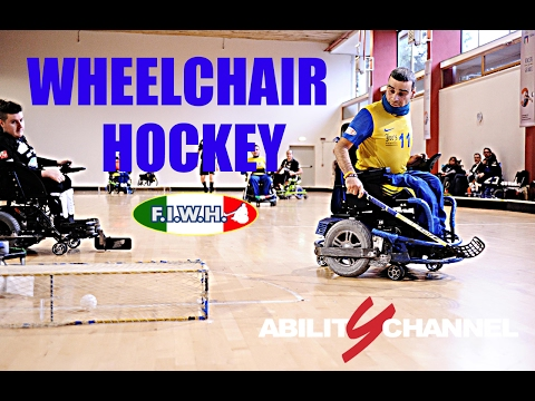 Cos'è e come funziona il WheelChair Hockey