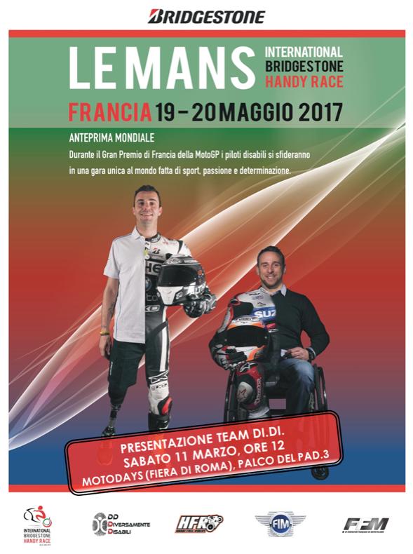 disabili a Le Mans