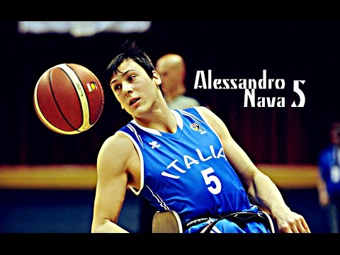 Italia Under 22 WheelChair Basket – Alessandro Nava