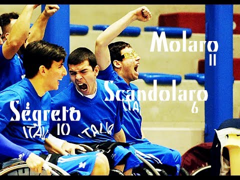 Italia Under 22 WheelChair Basket – Massimiliano Segreto, Mattia Scandolaro, Andrea Molaro