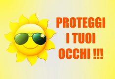 Occhi e sole, come proteggere la vista d'estate
