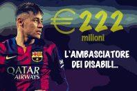 Neymar ambasciatore dei disabili…