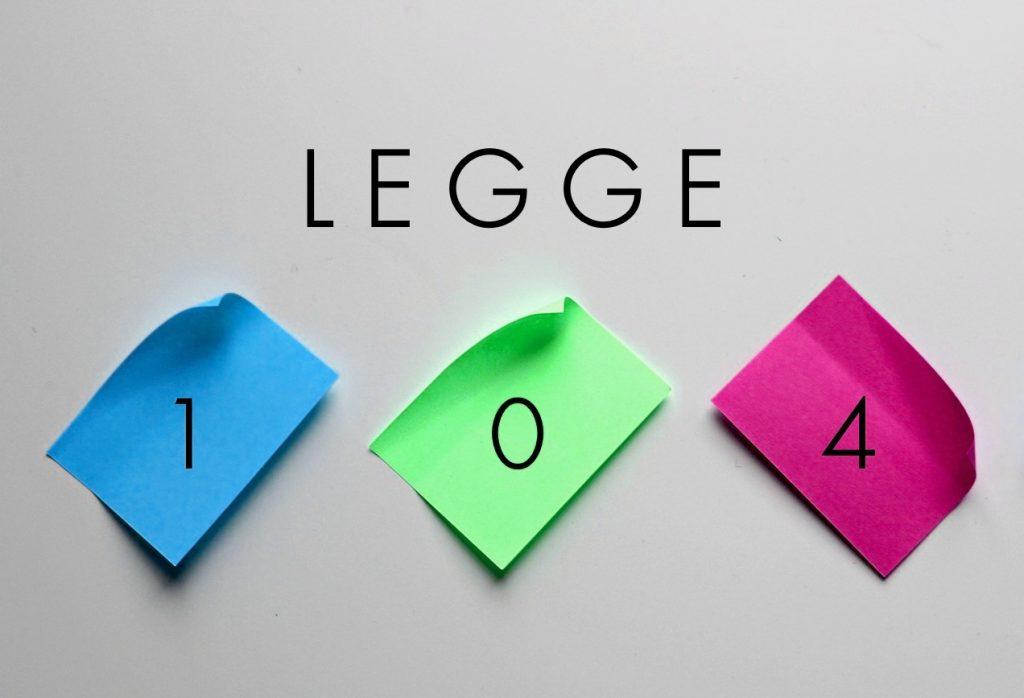 legge104