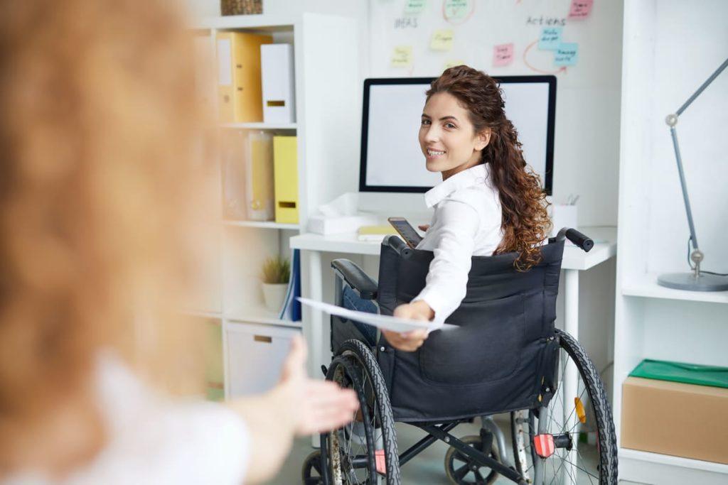 disabile presenta modello icric