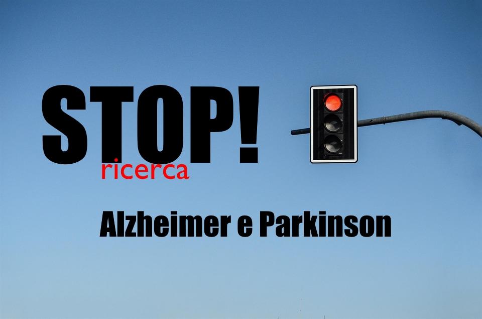 stop ricerca alzheimer