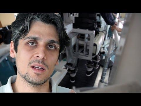 L'esoscheletro Lokomat – Unità Spinale di Torino