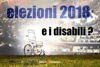 Elezioni 2018, sulla disabilità niente da dire