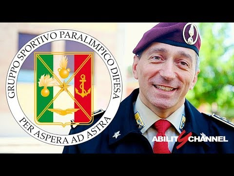 Gruppo Sportivo Paralimpico della Difesa e Ability Channel – Enrico Barduani
