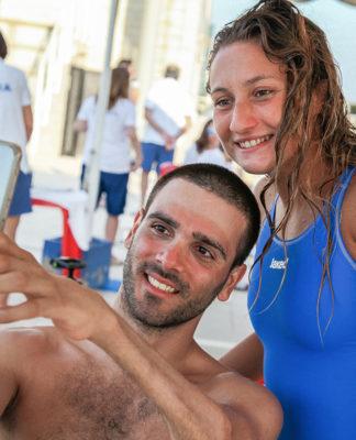 Vincenzo Boni e Alessia Scortechini