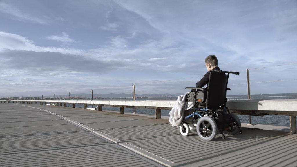 persona con disabilità grave