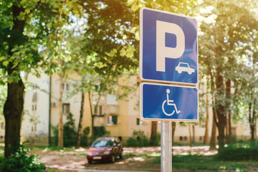 parcheggi disabili
