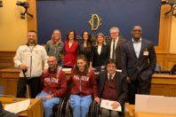 Giusy Versace e la pdl per gli atleti paralimpici