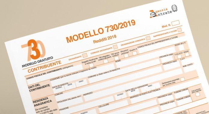 dichiarazione precompilata 2019-modello 730-agenzia delle entrate-ability channel-modello 730 2019-730 precompilato 2019-730 online
