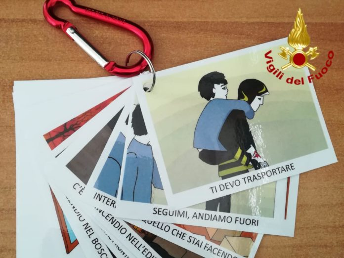 vigili del fuoco di pistoia-ability channel-autismo pistoia-vigili del fuoco di pistoia autismo-kit autismo vigili del fuoco di pistoia