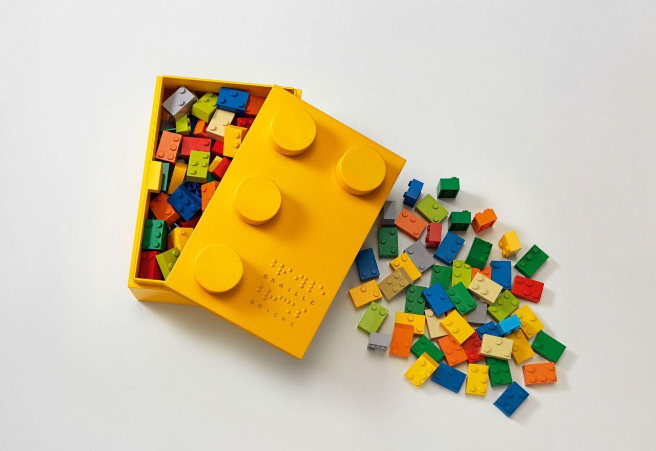 Lego Braille mattoncini