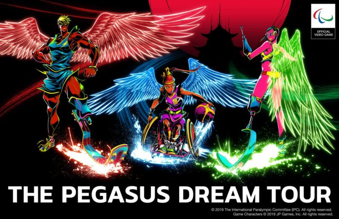 ability channel-the pegasus dream tour-videogame sulle paralimpiadi-videogame sulle paralimpiadi di tokyo 2020-giochi olimpici di tokyo 2020-paralimpiadi di tokyo 2020