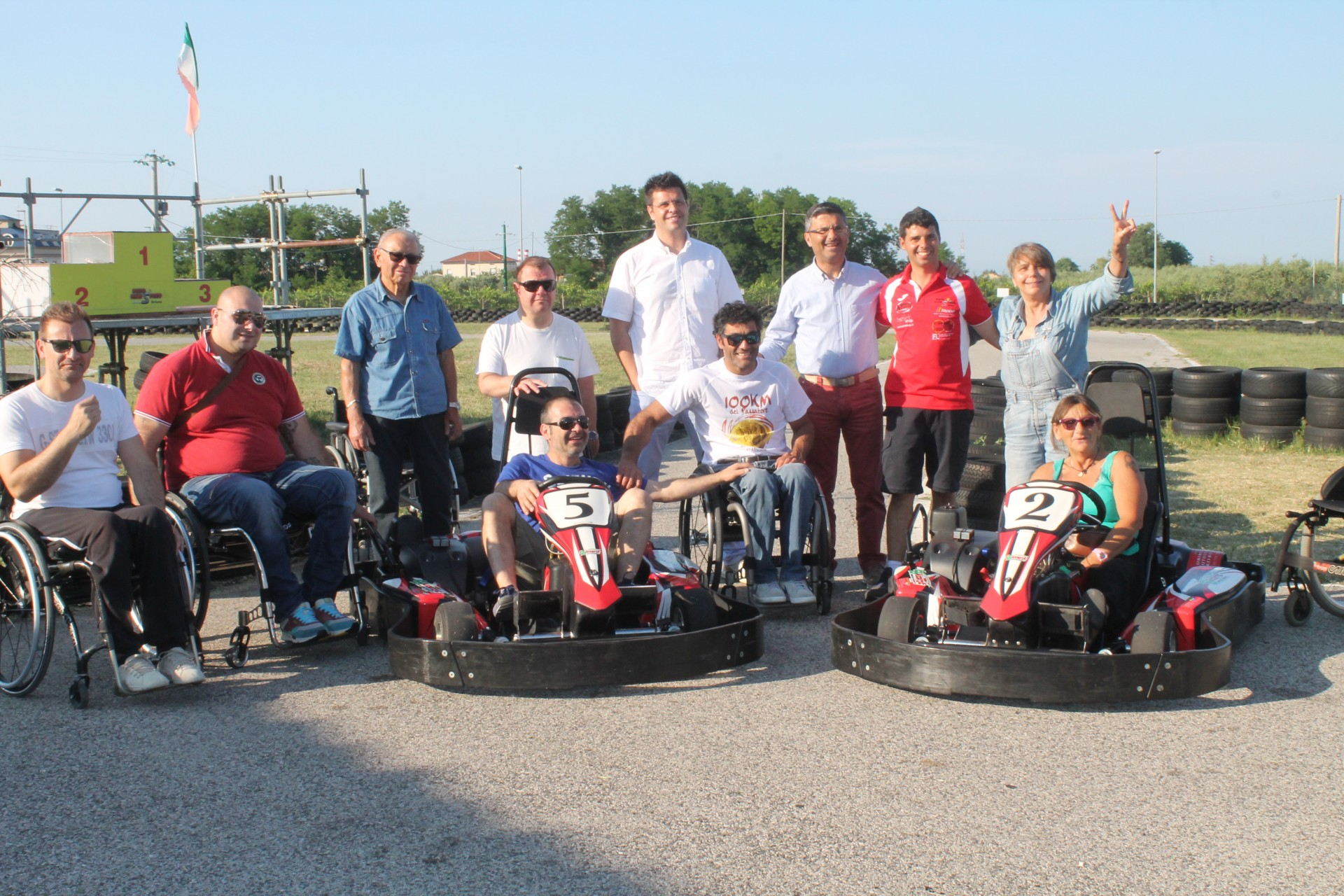 go kart per disabili-mini speed-associazione sportiva mini speed-ortona mini speed-pista mini speed-go kart per disabili mini speed ortona-ability channel