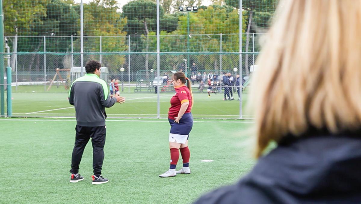 diamo un calcio alla disabilità-totti soccer school-scuola calcio totti-scuola calcio francesco totti-francesco totti-totti soccer school disabilità-ability channel