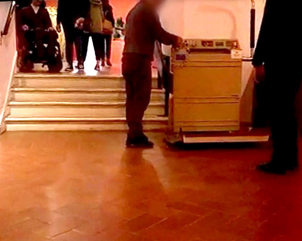 galleria d'arte moderna-disabile galleria d'arte moderna-galleria d'arte moderna roma-galleria d'arte moderna accesso disabili-disabilità galleria d'arte moderna-accessibilità galleria d'arte moderna-ability channel