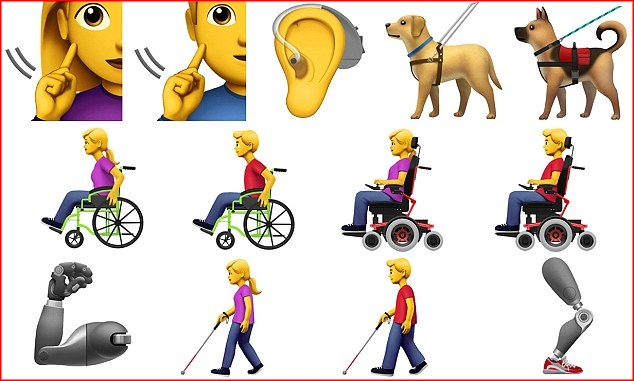 emoji sulla disabilità-emoji disabili-disabilità emoji-apple disabilità-ability channel-smartphone emoji disabilità