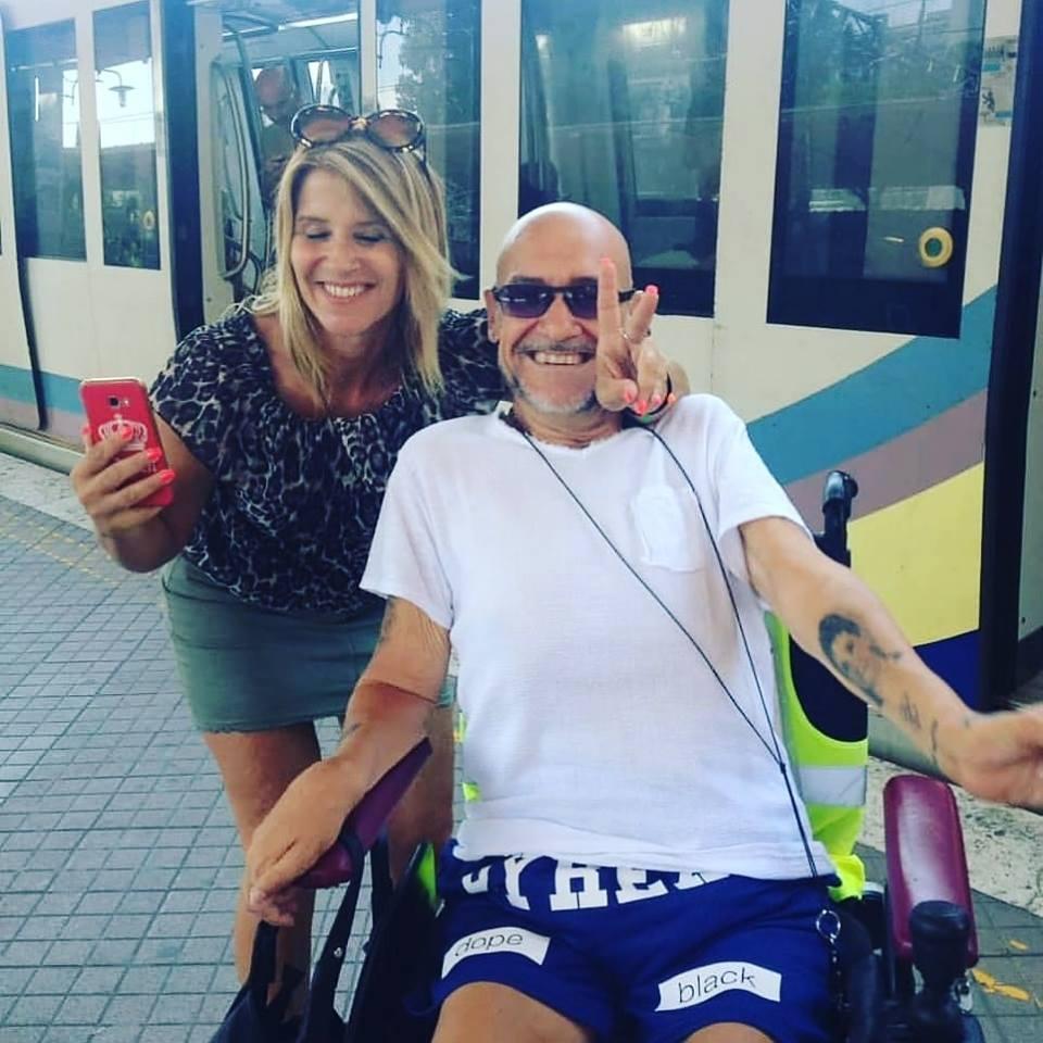 mauro bacchiocchi sui mezzi atac trasporto disabili