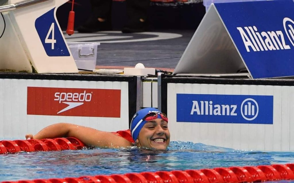 Angela Procida argento ai mondiali di nuoto paralimpico di londra 2019