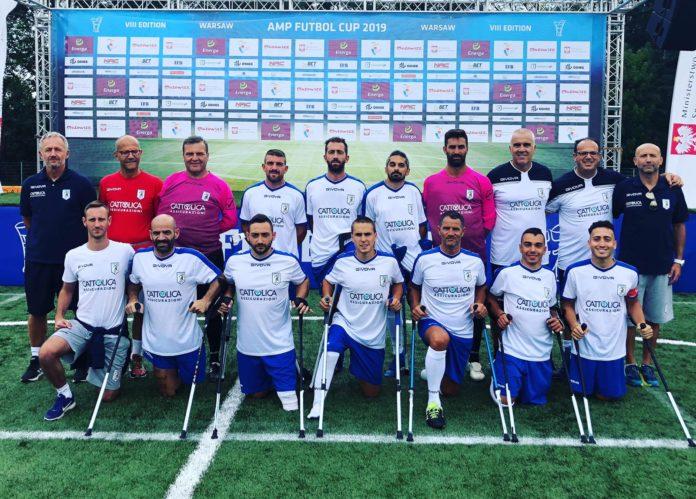 Calcio amputati amp futbol cup varsavia