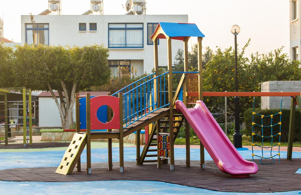 Parchi gioco non accessibile ai bambini con disabilità