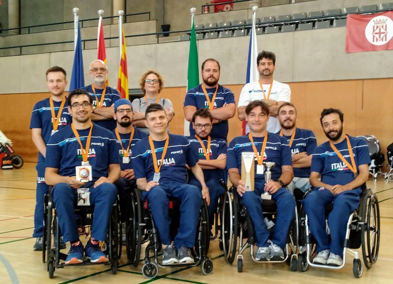 Rugby in carrozzina italia al Trofeo Internazionale di Barcellona