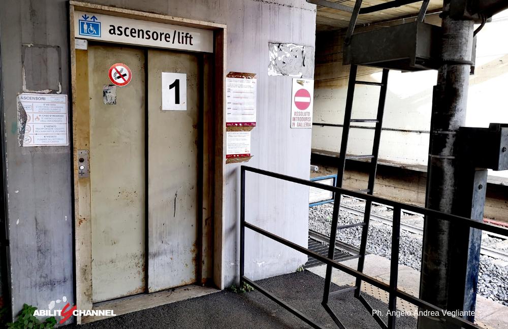 trasporto disabili ascensore della roma lido