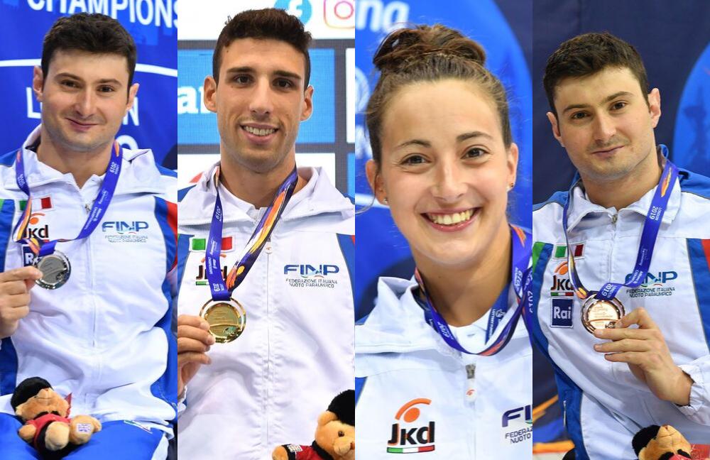 atleti italiani ai mondiali di nuoto paralimpico a londra 2019