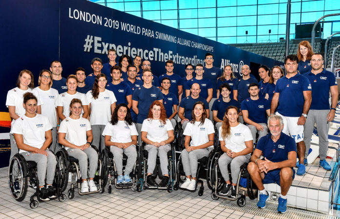 mondiali di nuoto paralimpico londra 2019