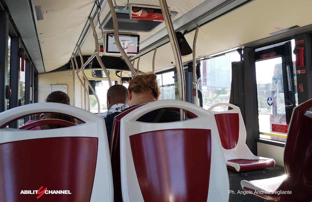 uno dei nuovi 227 bus di Roma Capitale Atac