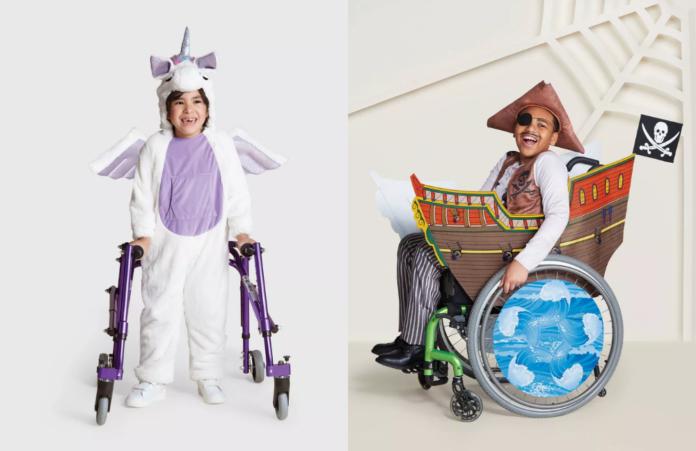 Halloween costumi bambini disabili