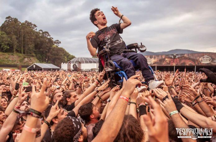 Resurrection Fest disabili al concerto ability channel