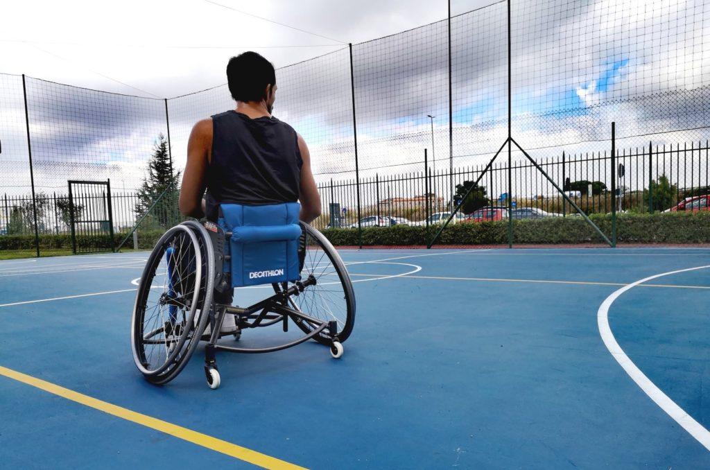 carrozzina basket di decathlon italia