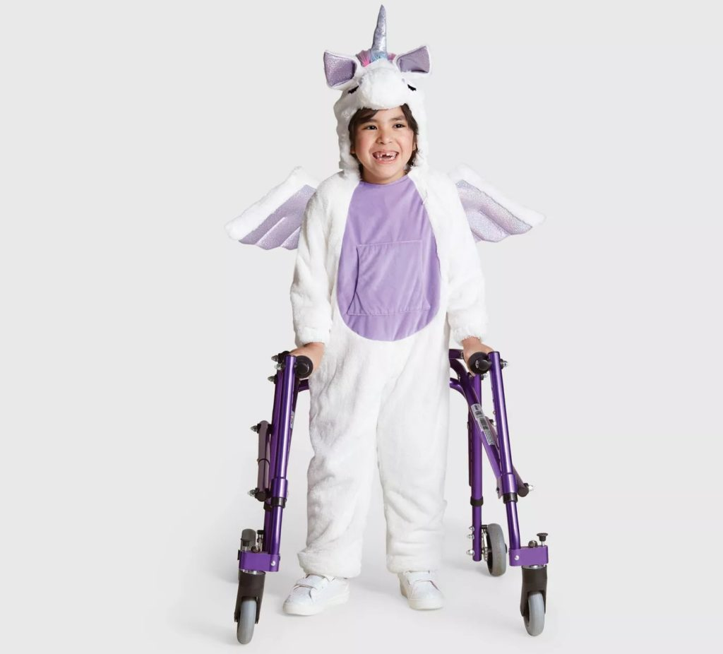 costume unicorno bambina sensoriale halloween 2019