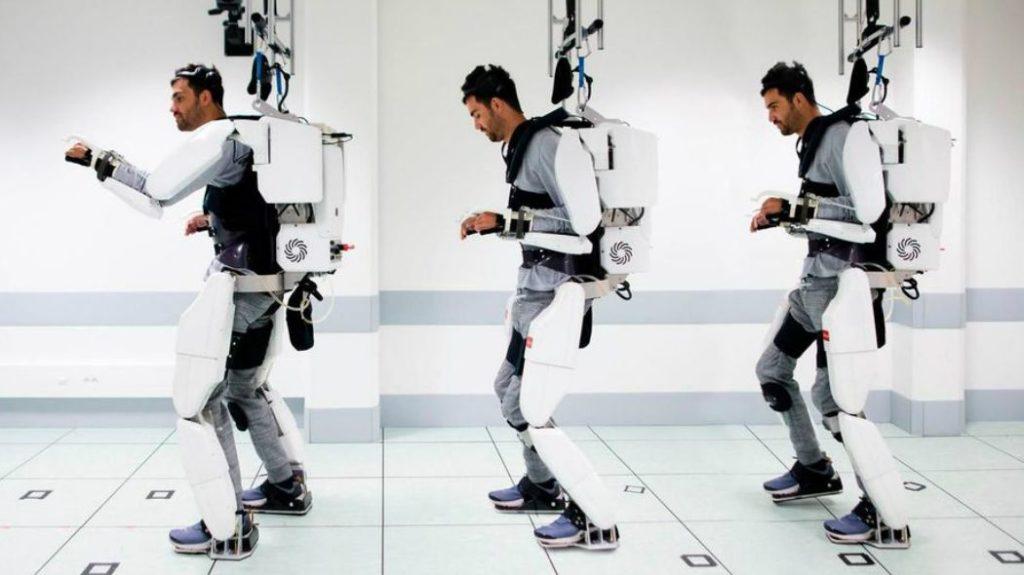 esoscheletro per camminare col pensiero