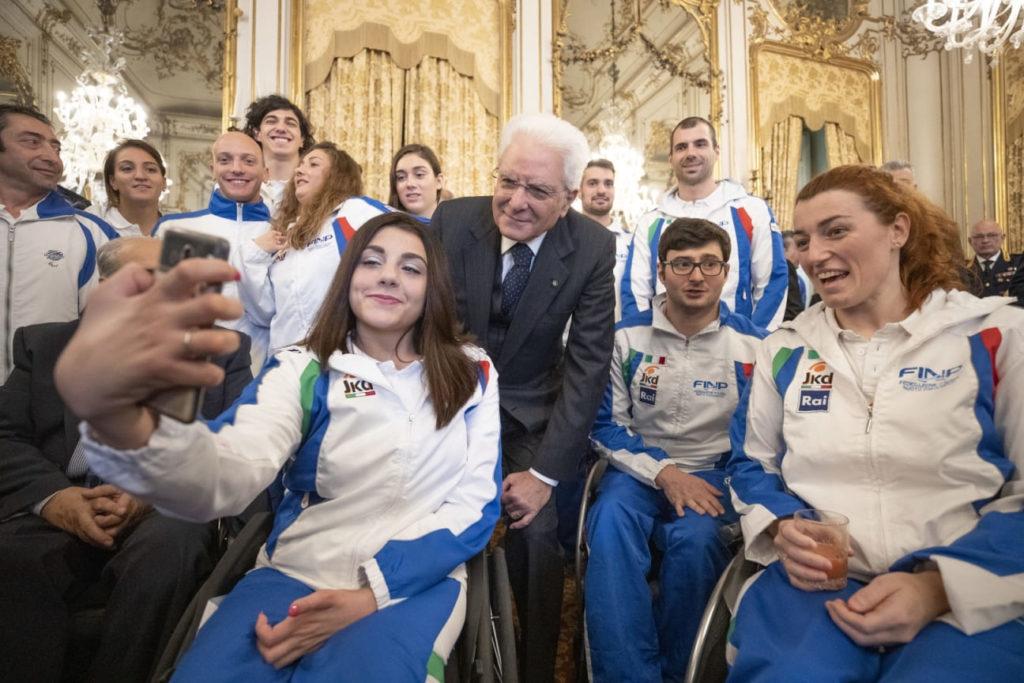 Nuoto paralimpico Mattarella campioni del mondo di Londra