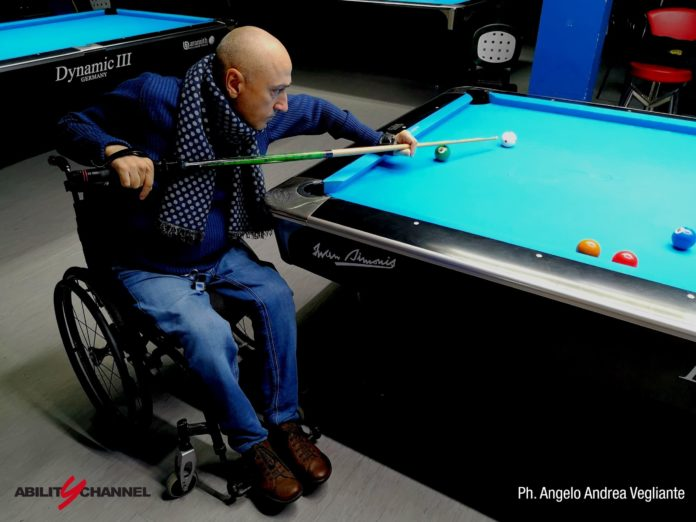 sport paralimpico wheelchair billiards