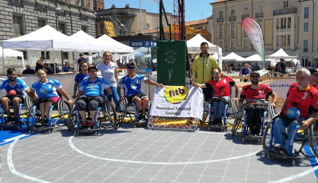 Wheelchair TchoukBall intervista Andrea Lanza ability channel