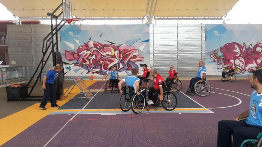 Wheelchair TchoukBall intervista andrea lanza ability channel sport paralimpico